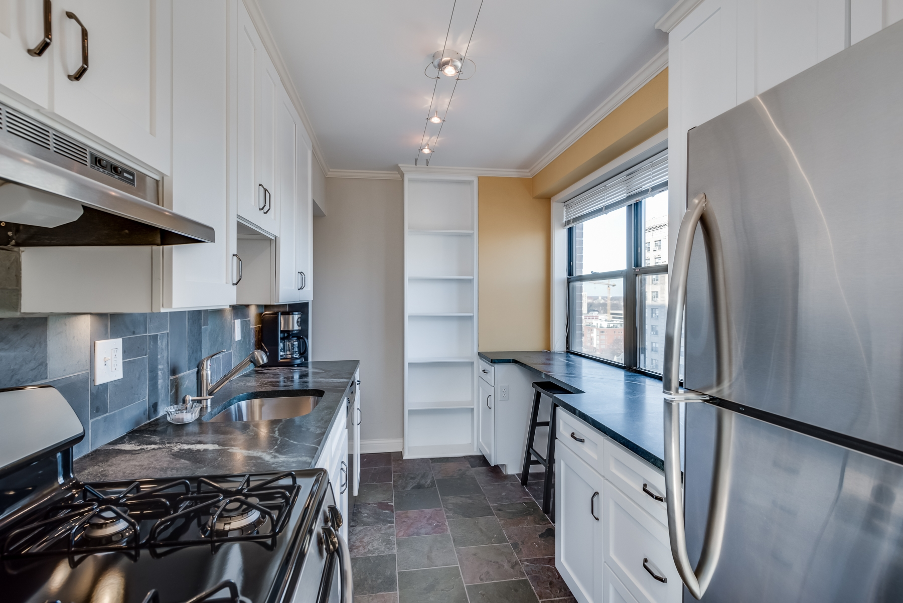 Photographs of a condo on West Pine Boulevard in the Central West End of St. Louis, Missouri for Dielmann Sotheby's International Realty Agent Ted Wight