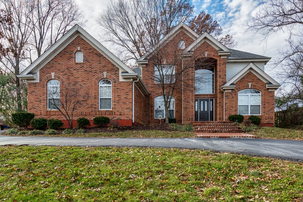 Winter picture of a home located at 841 N. Spoede in Creve Coeur missouri