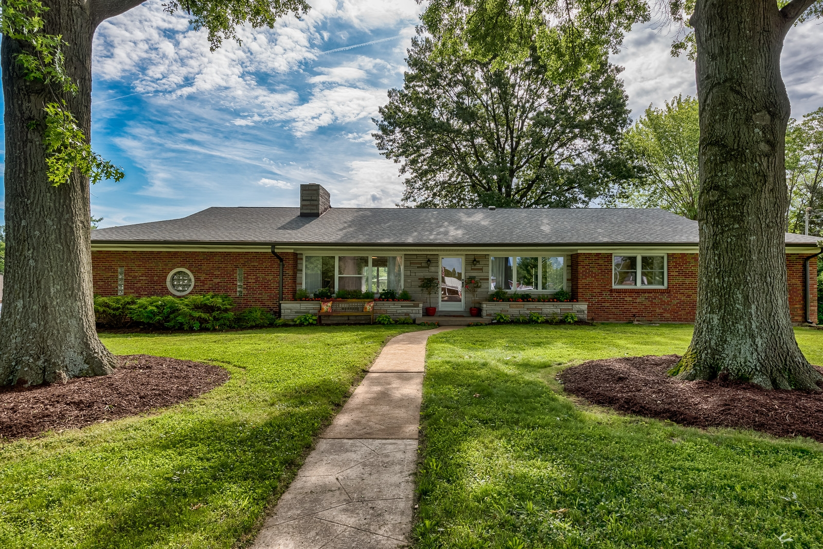Photographs of a home on Sappington Road in Crestwood, Missouri for Live Local Real Estate Group agent / broker Ginger Fawcett.