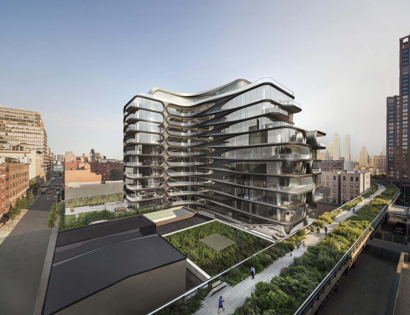 520 west 28th street zaha hadid architecture