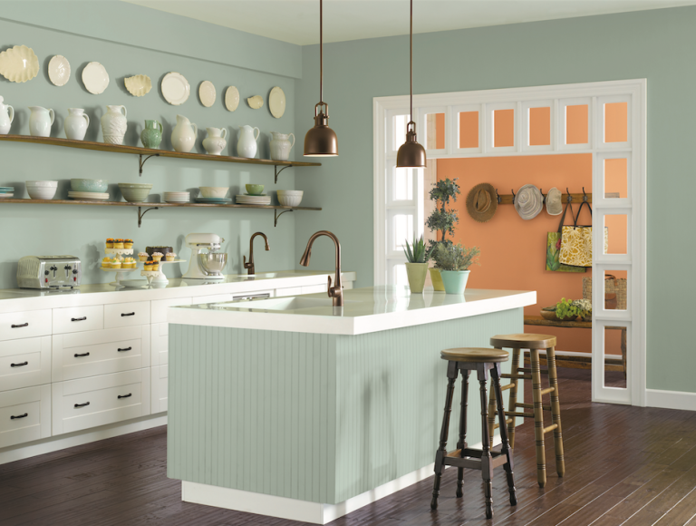 Oyster Bay Paint Color SW 6206 Buy Now Sherwin Williams