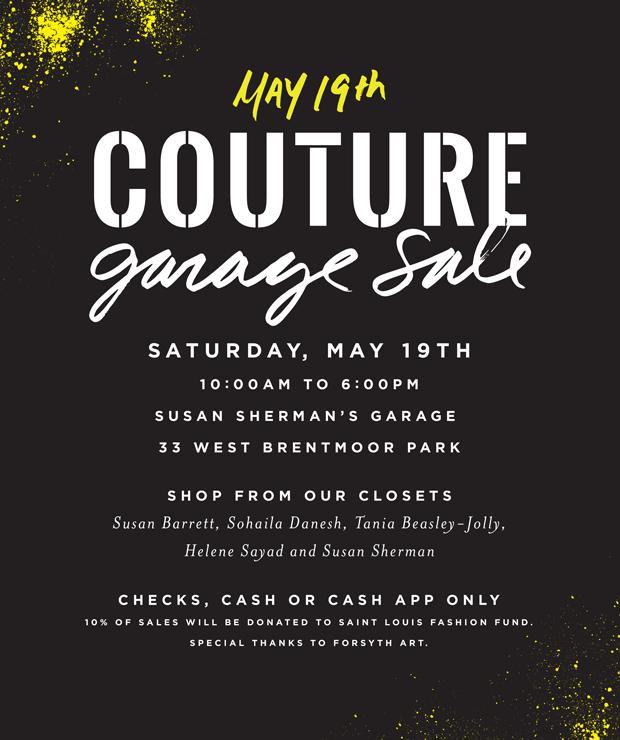 Couture Garage Sale   33 Brentmoor Park on st louis personal ads, north jersey garage sales, st louis flea market,