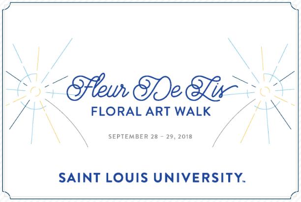 Fleur de Lis | Floral Art Walk