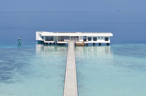 The World's First Underwater Hotel Villa