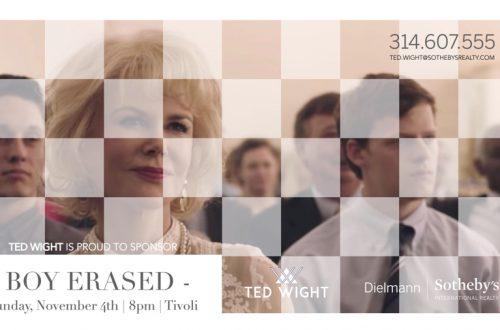 Boy Erased | November 4, 2018 | Tivoli Theater