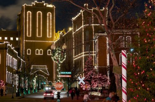 Six Holiday Light Displays in St. Louis