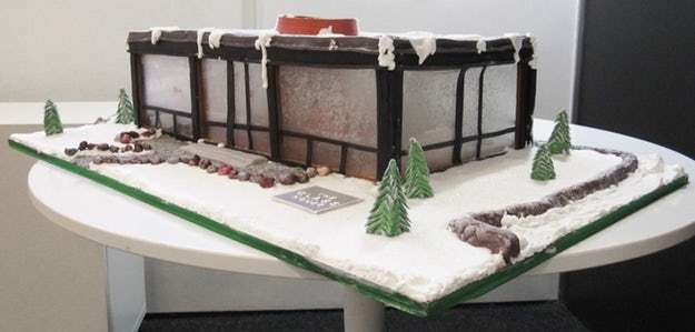 12 Architectural Gingerbread Houses