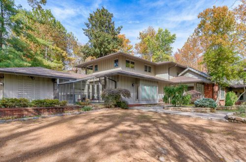 MLS Exempt Ladue Contemporary Home | 57 Log Cabin Drive