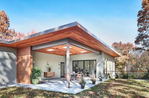The Transformation of a Meyer Loomstein Designed Home in Ladue