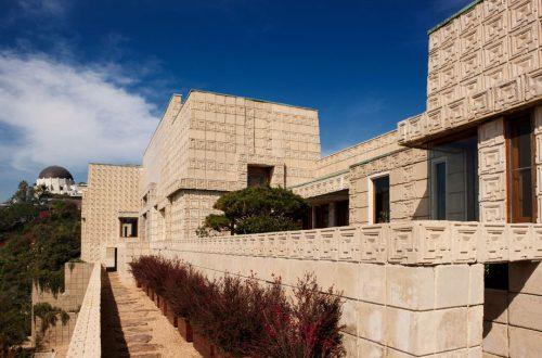 Frank Lloyd Wright's Ennis House For Sale