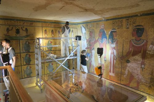 The Restoration of King Tut's 3,000-Year-Old Tomb