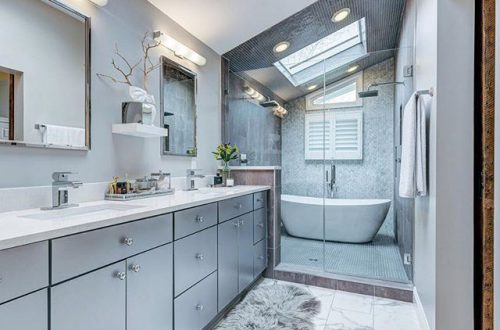 Throwback Thursday to this stunning bathroom at 9960 Holliston Court sold in May 2017! – from stlouis.style on Instagram