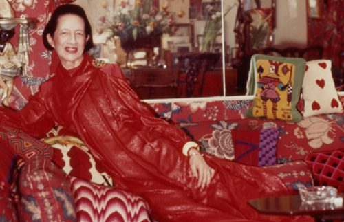 Throwback Thursday: Diana Vreeland's Red Living Room