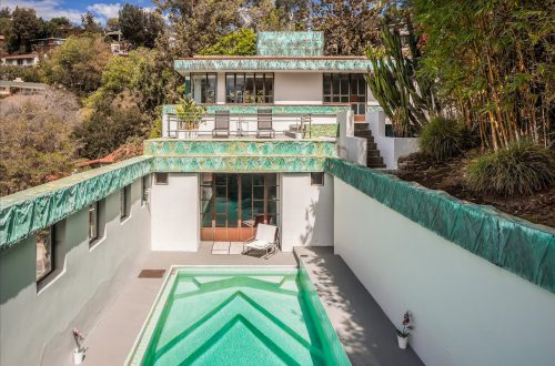 Lloyd Wright's Iconic Samuel-Novarro House Now For Sale