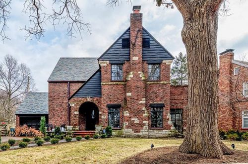 Quietly nestled in the eastern enclave of Pasadena Hills is this beautifully updated Tudor revival home | 4228 Roland Boulevard offered at &365,000 – from stlouis.style on Instagram