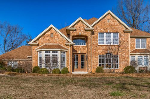Newer Custom Home on Creve Coeur Golf Course | 533 Fairways Circle