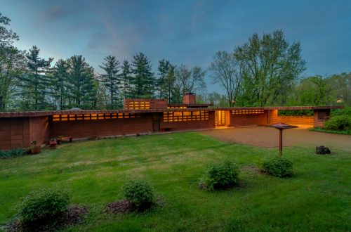 Frank Lloyd Wright's Pappas House Now Offered | 865 Masonridge Road