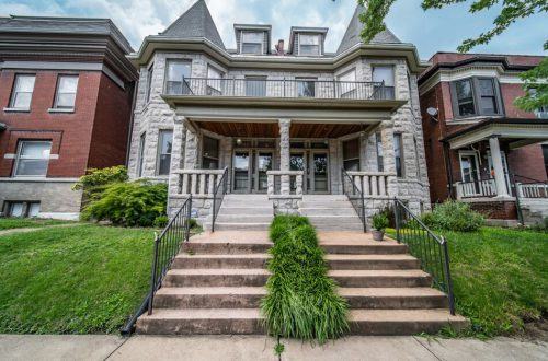 2.5 Story Stone-Front Townhome | 4143 Botanical Avenue