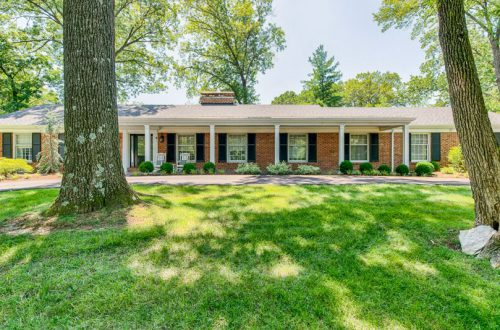 Updated Ladue Ranch on Over Half an Acre | 9858 Copper Hill Road