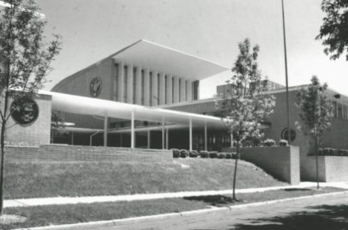 Throwback Thursday: B'nai Amoona Synagogue Designed by Eric Mendelsohn