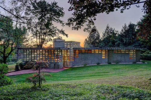 Frank Lloyd Wright House to be Preserved Forever Thanks to Anonymous Donor