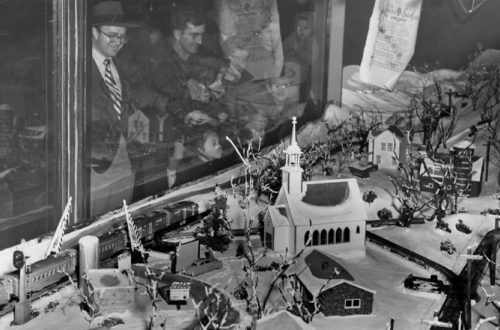 Where To See The Train Display From The Old Famous Barr Store