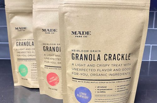 Granola Crackle by Made Fare Co. is an Office Favorite