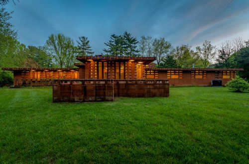 The Pappas House By Frank Lloyd Wright Has Sold