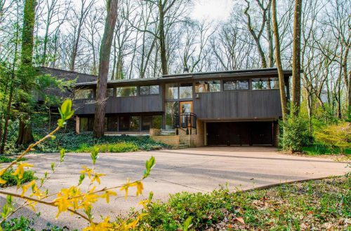 Mid-Century Modern Home on Beautiful Wooded Lot | 1122 Warson Woods