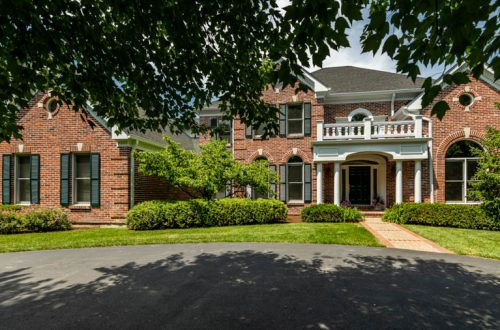 Custom Newer Home in Ladue School District | 121 White Bridge Meadows Lane