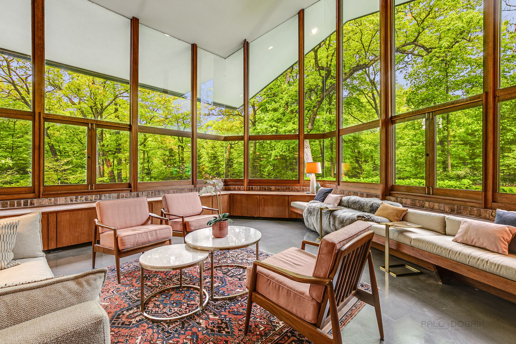 Frank Lloyd Wright House In Lake Forest Asks 2 3m 170 North Mayflower Road