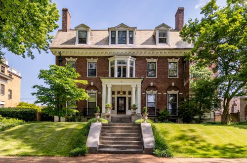 Historic Manse in the Central West End | 11 Washington Terrace
