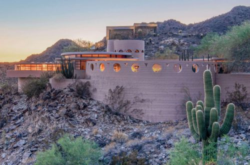 Frank Lloyd Wright's Circular Sun House Is Going Up For Auction