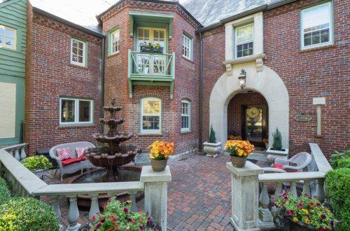 Inside Tudor Home in Claverach Park | 7146 Wydown Boulevard