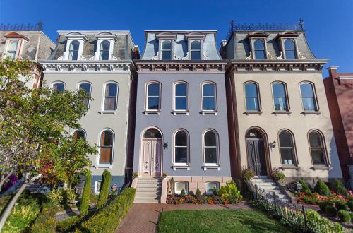 "Transformation Tuesday: Completely Renovated ""Painted Lady"" in Lafayette Square 
