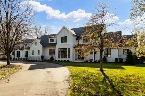 Inside Modern Farmhouse New Construction in Frontenac | 11600 Clayton Road