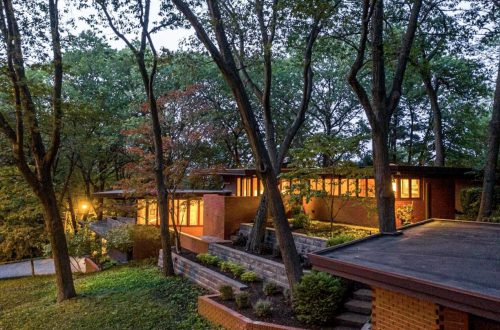 Frank Lloyd Wright's Armstrong House Lists for 1.2M