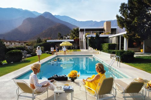 The Iconic Neutra-Designed Home Featured in Slim Aarons Photo Lists for $25M